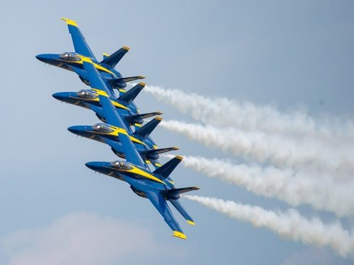 Air And Water Show Will Feature Only Navy Blue Angels This Year