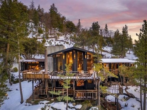 Pool With A Sky-High View: Mountain Retreat For Sale In Idyllwild