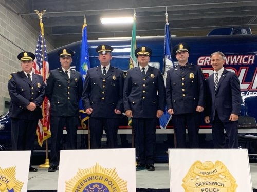 Greenwich Police Department Promotes 4 Officers