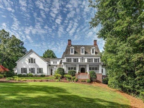 Nearly $3M Alpharetta Mansion Has Screened Porch, Walking Trail