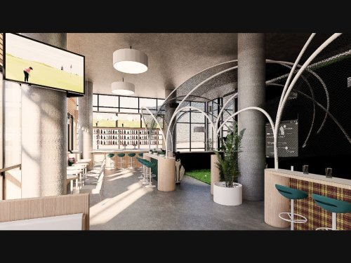 'Eat And Play' GC Lounge With Golf Simulator Coming To Uptown