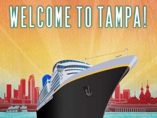 Port Celebrates As Royal Caribbean's Serenade of the Seas Sails Into Tampa Bay Saturday