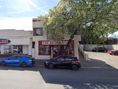 'Suspicious' Fire Damages Popular Redwood City Record Store