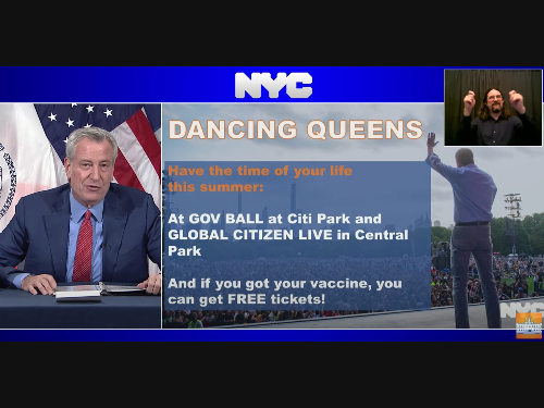 Vaccinated New Yorkers Can Win Free Governors Ball Tickets: Mayor