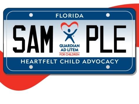 Arians Film PSA Boosting Guardian Ad Litem License Plates