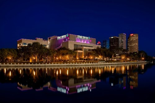 """Neighbor discussion: """"The Straz Center encourages community members to come together..."""""""
