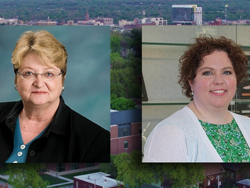 Two USF Faculty Members Promoted to Professor