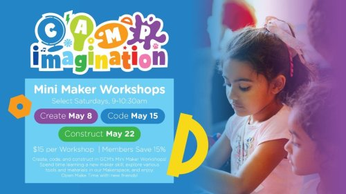 Local Event: Mini Maker Workshops At Glazer Children's Museum