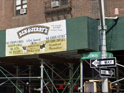 UWS Ben & Jerry's Takes Pro-Israel Stand, Spurning Parent Company