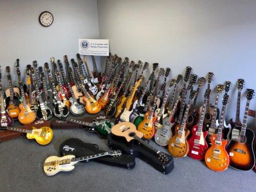 85 Fake Guitars Seized At Washington Dulles Airport: Report