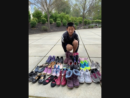 Get Rid of Your Old Shoes and You Could Earn Earn $100!