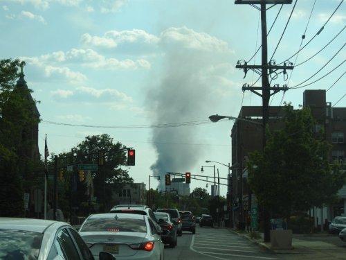 Massive Fire Burns At New Brunswick Paper Recycling Plant: Report