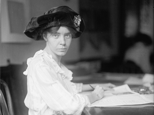 Institute Calls For Alice Paul To Be Commemorated Nationally