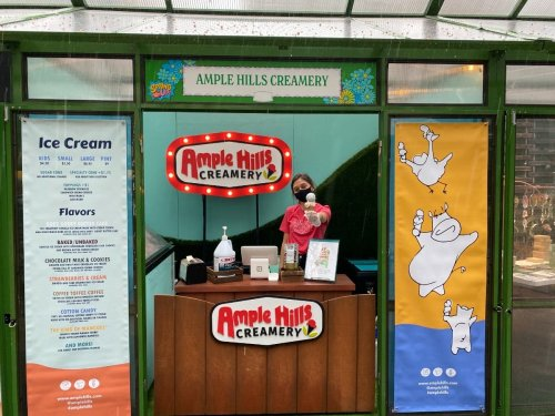 Popular Ample Hills Creamery Opens Bryant Park Scoop Stand