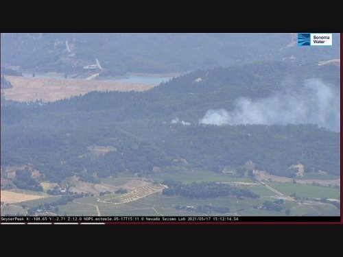Dutcher Fire: Cal Fire Responds To Vegetation Blaze In Cloverdale
