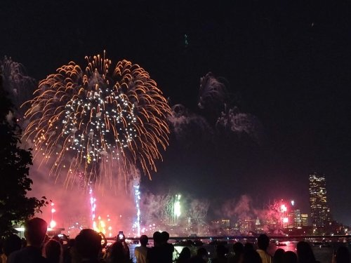 4th Of July Fireworks 2021 Near Brookline