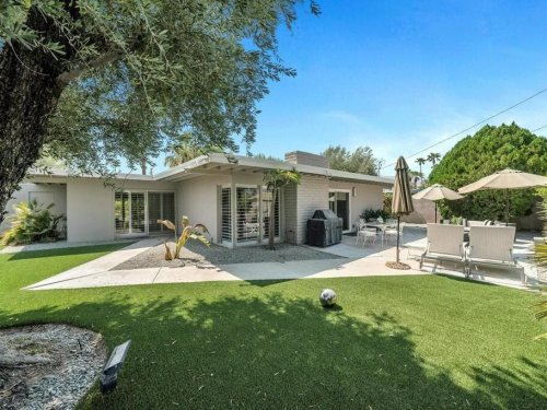 Updated Mid-Century Home Hits Market At $500K In Palm Desert