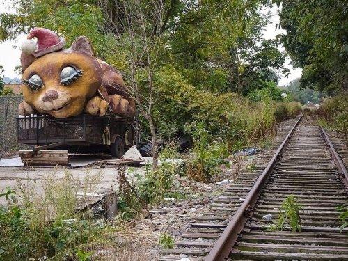 Poetry Amid Decay: NJ Photographer Explores Abandoned Railway