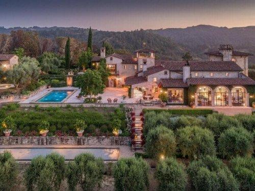 Wow House: Joe Montana's Calistoga Equestrian Estate