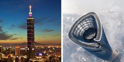 15 gratte-ciel vraiment très très hauts qui donnent le vertige