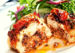 Discover stuffed chicken