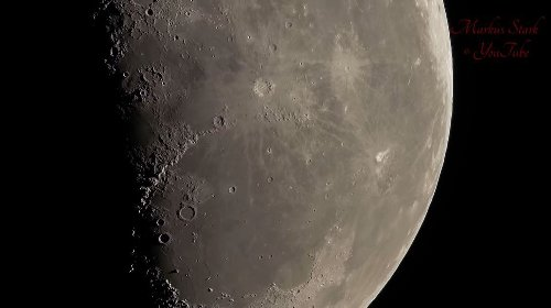 """This stunning moon footage was shot with """"the world's sharpest super-telephoto lens"""" - DIY Photography"""