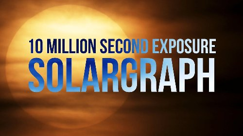 This is what a 10-million second long exposure photograph of the sun looks like - DIY Photography