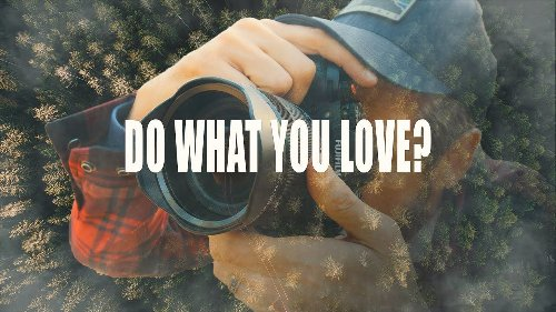 Photographers, this is the problem with doing what you love - DIY Photography