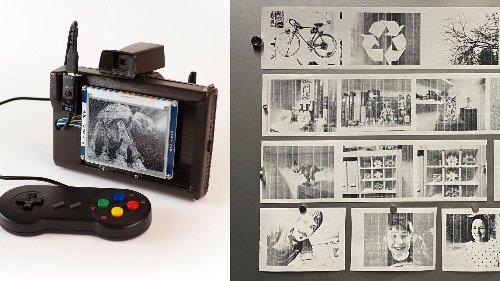 How I built a digital Polaroid camera - DIY Photography