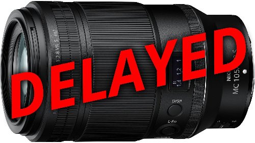 Nikon apologises for shipping delays with new Nikkor Z MC 105mm f/2.8 VR S macro lens - DIY Photography