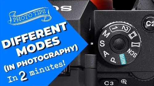 Which exposure mode should you be using with your camera? - DIY Photography