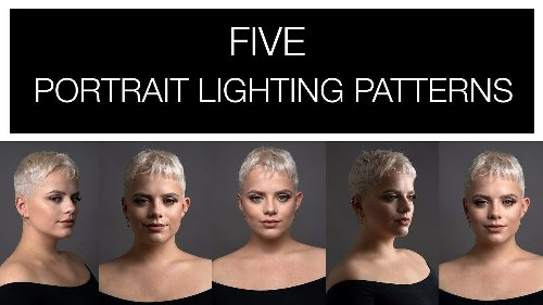 Five portrait lighting patterns you need to learn - DIY Photography