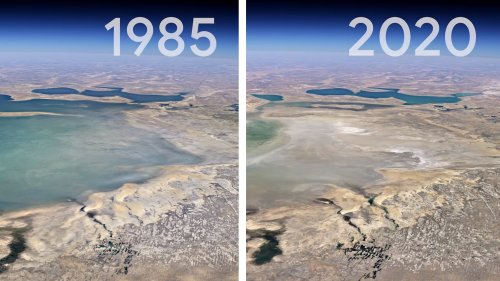 Google Earth's new timelapse feature lets you see the climate change impact over four decades - DIY Photography