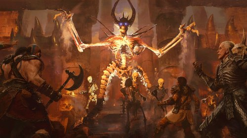 Diablo 2: Resurrected's new enemy models have all kinds of new spines and things