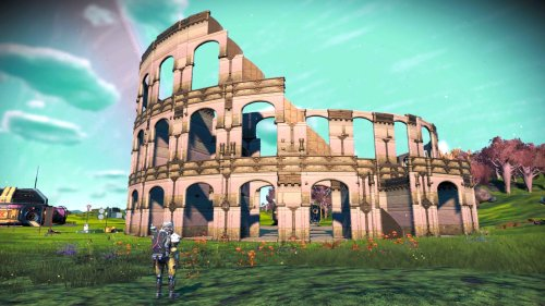 A No Man's Sky fan is recreating the Colosseum, and it looks pretty darn fantastic