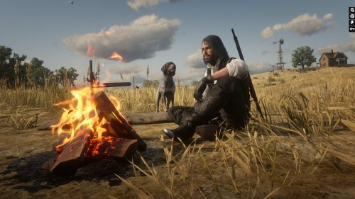 This Red Dead Redemption 2 mod lets you have your very own dog