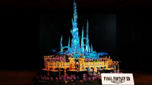 How the hub city of Final Fantasy XIV: Endwalker got turned into Lego art