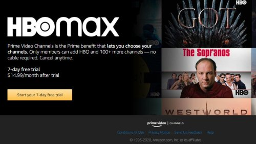 Report: Amazon Prime Video Channel Users May Lose Access to HBO in 2021