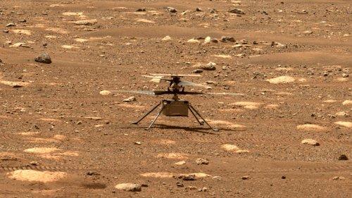 Listen to NASA's Ingenuity Fly on Mars