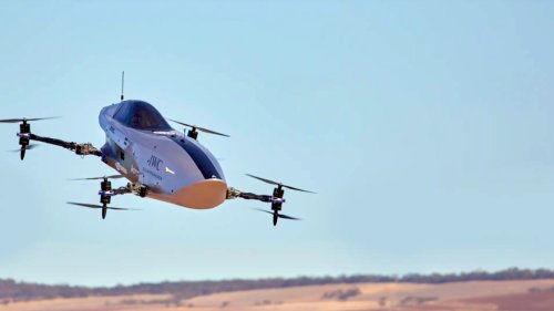 Airspeeder's Flying Race Car Completes Historic First Flight