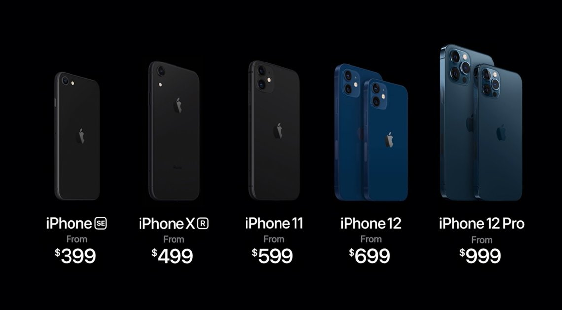 Apple Announces iPhone 12 Lineup, Starting at $699
