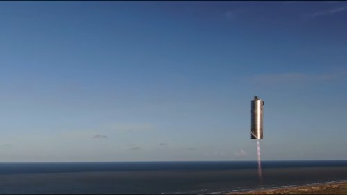 SpaceX Starship Prototype Completes 500-Foot 'Hop'