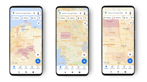 Google Maps Adds COVID-19 Layer With Current Outbreak Data