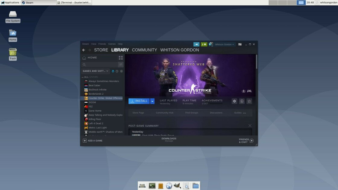 How to Play PC Games on Linux