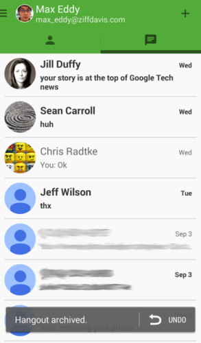 Google Hangouts (for Android) Review