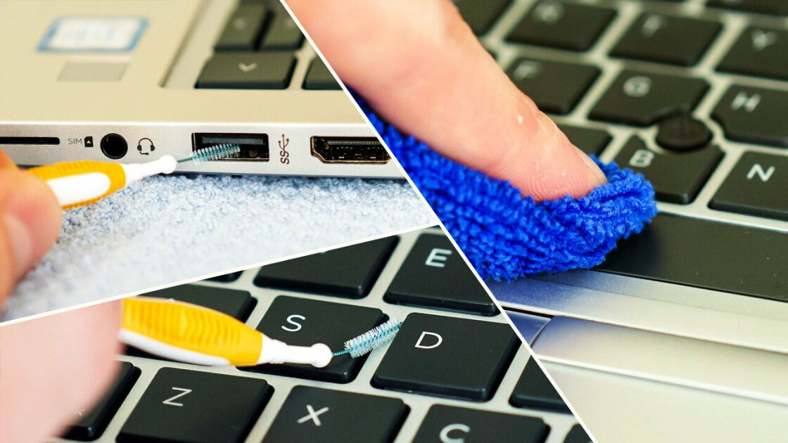 How to Clean Your Laptop the Right Way