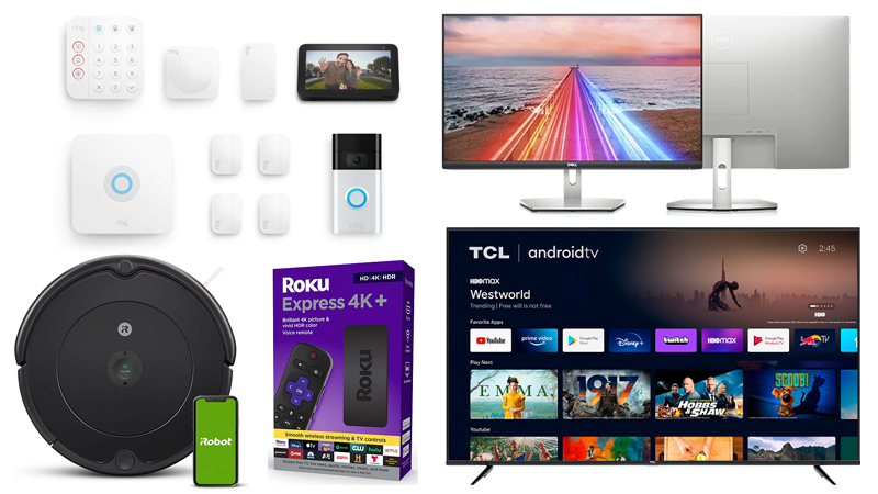 Early Labor Day Tech Deals: Save on Ring Alarm Bundles, 75-Inch TCL 4K TV, More