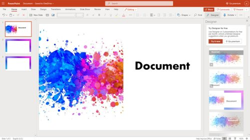 How to Convert a Word Document Into a PowerPoint Presentation