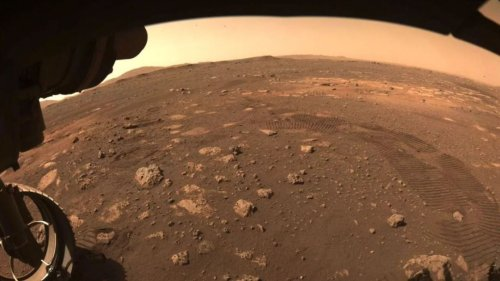 NASA's Perseverance Rover Makes Its First Martian Moves