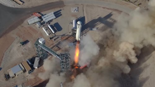 Got Some Extra Cash? Place Your Bid to Fly on Blue Origin's New Shepard Rocket